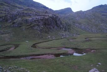 Aguas Tuertas (Huesca, Spain) camino del Ibón de Estany