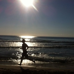 Morning running (Alicante, ES)